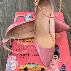 Kate Spade Pink Patent Leather size 6